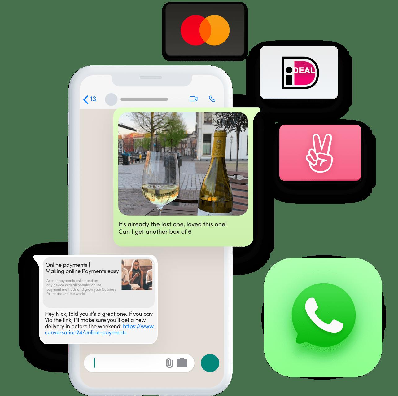 Conversationele betalingen en terugbetalingen